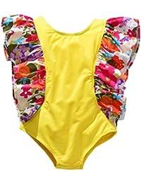 Poachers Ropa baño Niñas bebé Verano 2años-7años una Pieza tación Playa Conjuntos Bikinis Cómodo