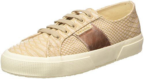Superga 2750 Pusnakew Sneaker Donna Beige Nude 37.5 EU e4A