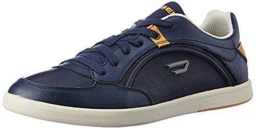 Diesel Schuhe Sneaker Herren Leder Schnürsenkel Eastcop Starch Blaue Nights,44 (Sneakers Diesel Schuhe)