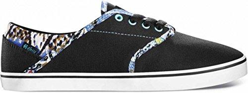 Etnies Skateboard Damen Schuhe Caprice Black/Blue, Schuhgrösse:35