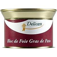 Delicass - Bloc de foie gras de pato, Lata 130 g