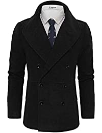 Tom's Ware Caban-Grand revers double boutonnage-Hommes