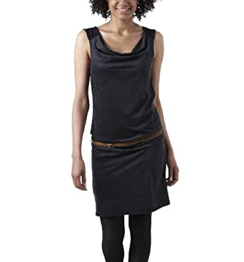 Promod Robe en suédine Noir 4