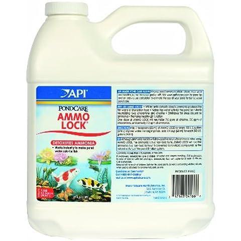 API Pondcare Ammo-Lock Ammonia Detoxifier, 64-Ounce by PondCare