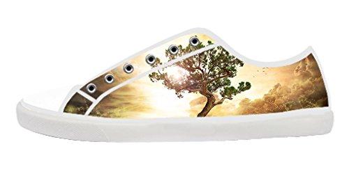Árvore Dalliy De Vida Baum Des Lebens Sapatas De Lona Dos Homens Schuhe Calçado Sneakers B