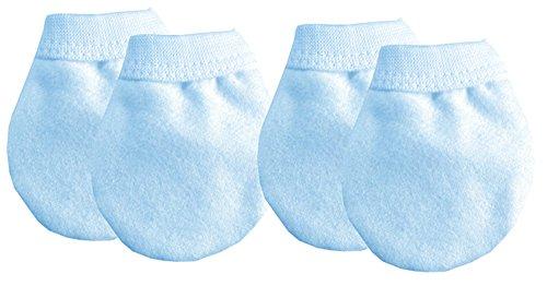 Soft Touch Baby Anti-Kratz Fäustlinge blau blau new born