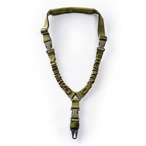ZYCX123 Multifunktionale Tactical Rope Single Point Seil Task-Sling lebensrettende Seil Outdoor-Camping-Zubehör (Grün) -
