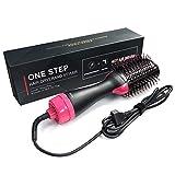 Allbesta 3-in-1 Haartrockner Warmluftbürste Hair Styler & Volumizer Salon Negative Ion Haarglätter Bürste Lockiges Haar Kämmen Anti Verbrühen