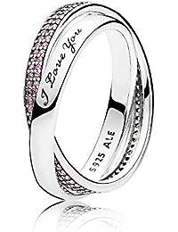 Pandora Damen-Ringe zirkonia Ringgröße 54 (17.2) - 196546PCZ-54