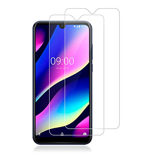 ROVLAK Panzerglas Schutzfolie für Wiko View 3 Pro,[2 Stück][9H Härte][Anti-Kratzen] [Anti-Fingerabdruck][2.5D R&e][HD Klar] Folie für Wiko View 3 Pro