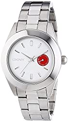 DKNY Analogue White Dial Womens Watch - NY2131