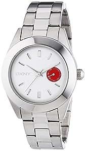 DKNY Damen-Armbanduhr Analog Quarz Edelstahl NY2131
