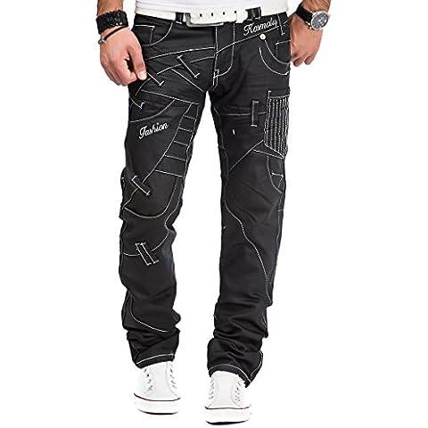 Kosmo Lupo Jeans -  Jeans  - Straight  - Uomo
