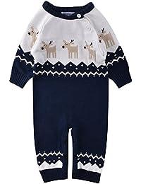 2fe7c1680a9f3 ZOEREA Pull bébé garçon Barboteuse bébé Enfant Pyjamas bébé Vetement Bebe  Fille Costume Enfant garçon Manches