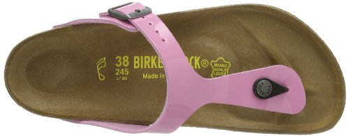 Birkenstock Classic GIZEH  BF LACK, Sabot donna Rosso (Rot (CASHMERE ROSE))
