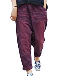 BOMOVO Vaqueros bootcut para mujer Pantalones sueltos