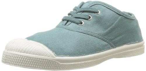 Bensimon Tennis Lacet, Unisex-Kinder Hohe Sneakers Grün (Vert (Vert de Gris 614))