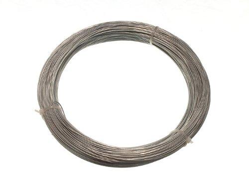 Galvanisé clôture de jardin fil 1 mm 80 mètres ( 10 Rolls Chaque 500G Dans poids )