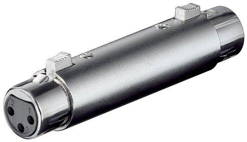 XLR Adapter 3-polig XLR Kupplung auf 3-polig XLR Kuppl.