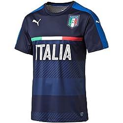 PUMA camiseta de fútbol para hombre FIGC Italia training jersey, chaquetón/equipo de energía Blue, M, 748851 05