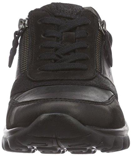 Gabor Comfort Basic, Low-Top Sneaker donna Nero (Schwarz (schwarz 57))