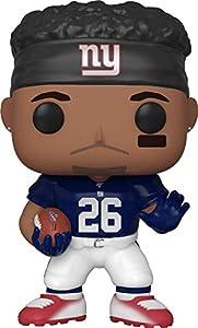 Funko- Pop Figura De Vinil: NFL: Giants-Saquon Barkley (Home Jersey) Coleccionable, Multicolor (40592)