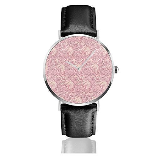 Reloj de Pulsera de Cuarzo con diseño de Elefantes malvados, para Hombres...