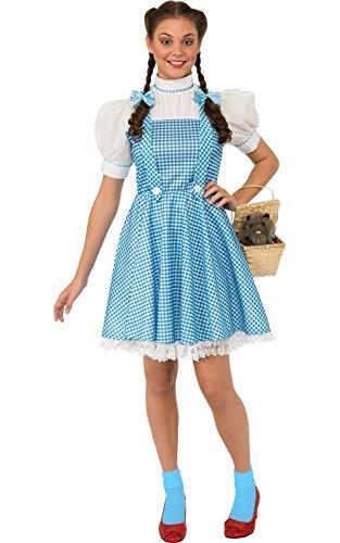 Zauberer von Oz Dorothy, Erwachsene Kostüm–Medium (Dorothy Zauberer Von Oz Kostüm Für Erwachsene)