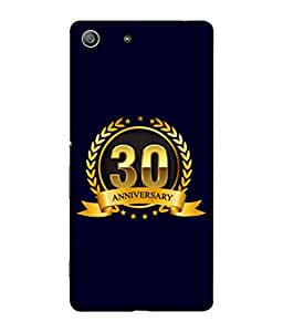 PrintVisa Designer Back Case Cover for Sony XperiaZ3 Compact (Life Love Occasions Aniversary Vision Celebrations)