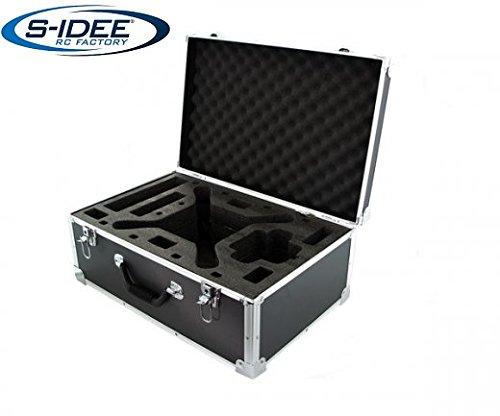 Preisvergleich Produktbild s-idee 01625 DJI 4 Phantom 4 Aluminiumkoffer Transportkoffer der Phantom passt mit angeschraubtem Propeller in den Koffer Reisekoffer