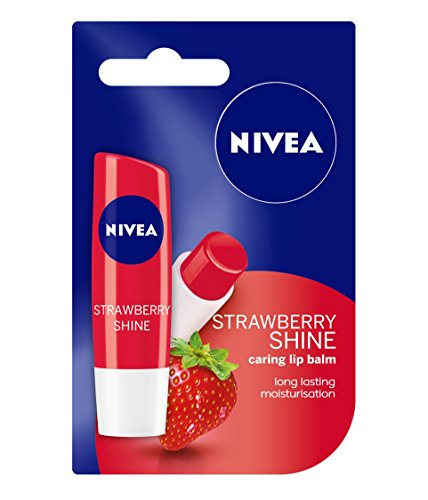 Nivea Lip Care Fruity Shine Strawberry, 4.8gm