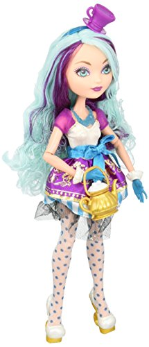 Mattel Ever After High BBD43 - Original Kollektion Madeline Hatter Puppe
