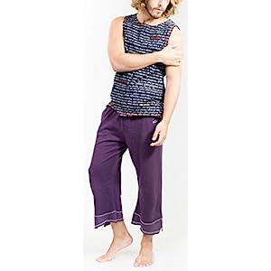 """Yoga-pants """"mudra"""" – Purple Yogamasti"""