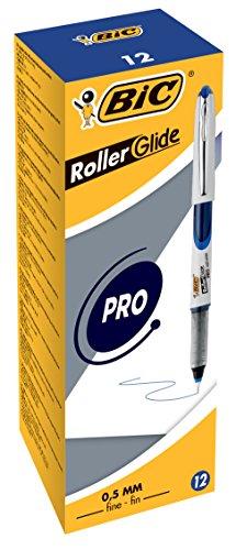 BiC 885789 - Bolígrafo de tinta líquida (trazo de 0.5 mm, 12 unidades)