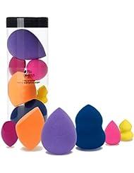 Miss Gorgeous Makeup Blender Beauty Makeup Sponges (6Pcs 3Normal+3Small)
