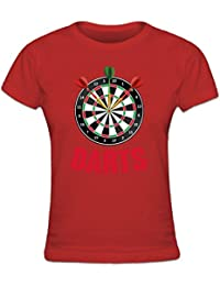 Shirtcity Tripple Bullseye Darts Dartboard Women's T-Shirt by