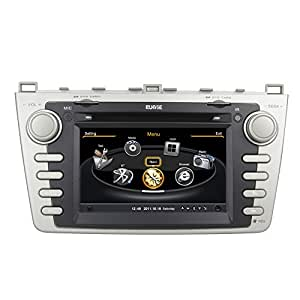 kooletron 7zoll mazda 6 autoradio navigation gps car dvd. Black Bedroom Furniture Sets. Home Design Ideas