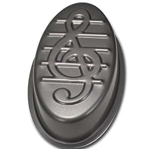Städter 585096 Moule motif clé de sol anti-adhésif 32 cm