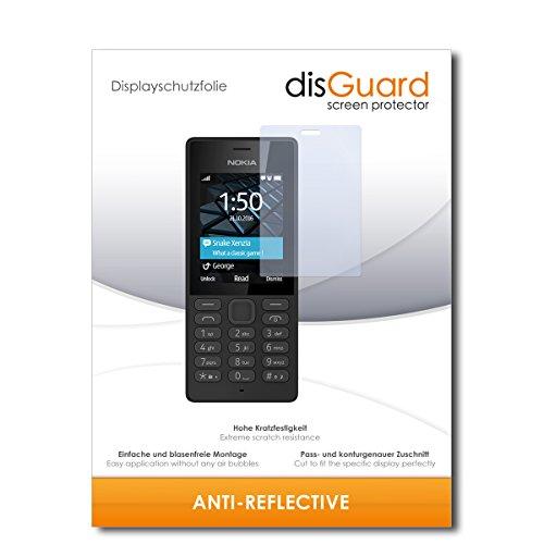 disGuard® Displayschutzfolie [Anti-Reflex] kompatibel mit Nokia 150 Dual SIM [2 Stück] Entspiegelnd, Matt, Antireflektierend, Extrem Kratzfest, Anti-Fingerabdruck - Panzerglas Folie, Schutzfolie