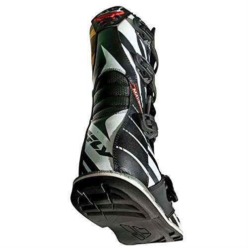 Fly Racing Motocross-Stiefel Maverik Schwarz Gr. 39-40 - 3