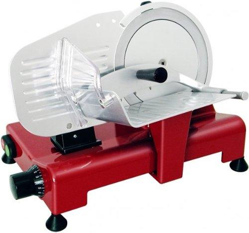 Rgv lusso 195 gl elettrico 110w alluminio rosso affettatrice