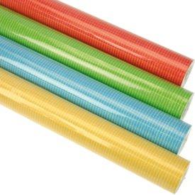 rben einfarbig gelb blau rot gruen usw. modernes Geschenkpapier 200 x 70 cm verschiedene Designs ()