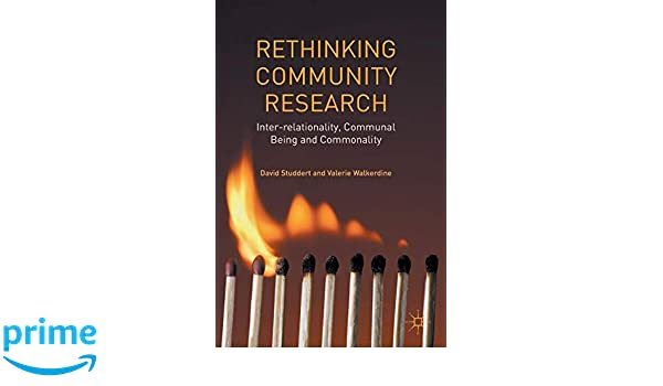 Inter-relationality, Communal Being and Commonality