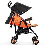GSDZN - Baby Kinderwagen Kinderwagen Leichte Reise Buggy Faltbare Baby Multifunktions Regen Abdeckung UV Schutz Atmungsaktiv,D