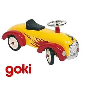 porteur trotteur jouet en m tal voiture pousser avec volant enfant 1 an jeux et. Black Bedroom Furniture Sets. Home Design Ideas