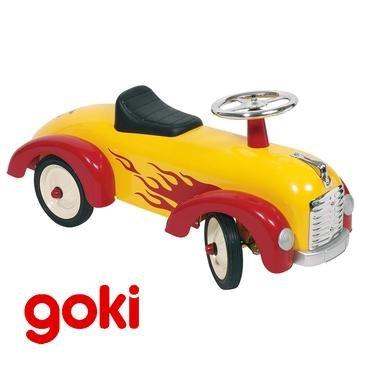 Portador Trotteur juguete de Metal coche escardillo con volante niño 1an +