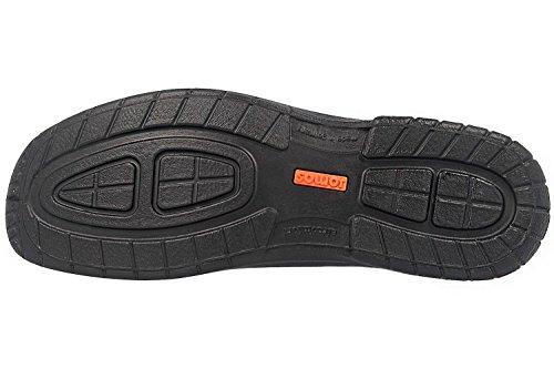 Schwarz Herren 420413 Schuhe 37 Slipper Weite Urbanic Halbschuhe K Jomos OBz54q4