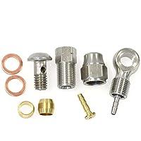 ALHONGA - 35404 : Kit reparacion latiguillo cable freno disco hidraulico Shimano