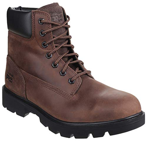 Timberland PRO Sawhorse Lace Up Safety Boot Brown Size UK 10 EU 44