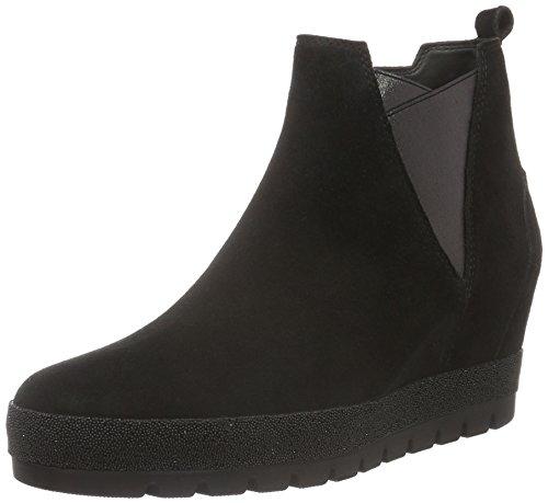 Gabor Shoes Comfort Sport, Stivali corti Donna, Nero (Schwarz (Micro) 47), 44 EU